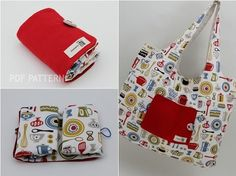 "SewingWithMe3's ""Eco Friendly Portable Shopping Bag"" PDF Pattern :: Instant Gratification Online Shop"