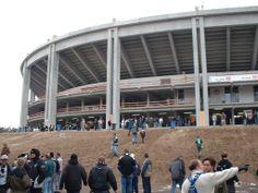 Baustelle Frankfurter Waldstadion