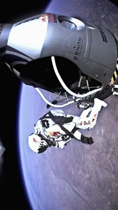 Relive the epic jump from space that changed everything  Premiere Dates:  Part I: 4/13 10pm ET  Part 2: 4/14 9pm ET