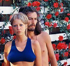 george harrison and pattie boyd   ... inédites de Georges Harrison et Eric Clapton   Vanity Fair