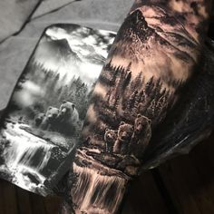 Except for wolves - Diy Tattoo Project - Except for wolves - Diy Tattoo Pro . - Except for wolves – Diy Tattoo Project – Except for wolves – Diy Tattoo Project – # - Wolf Tattoo Sleeve, Nature Tattoo Sleeve, Tattoo Sleeve Designs, Sleeve Tattoos, Tattoo Nature, Wolf Sleeve, Wolf Tattoos, Animal Tattoos, Tatoos