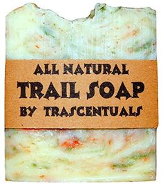 Camping Soap and Shampoo Bar for All Natural Environmentally Friendly Body and Hair Cleaning Great for Outdoor Activities and Hiking ** You can get more details by clicking on the image.