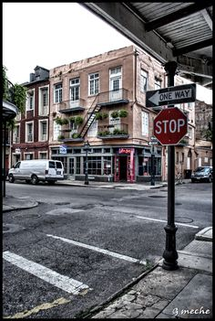 My Life in the Quarter: A Street Corner by Where I Live   New Orleans Sites and Sights
