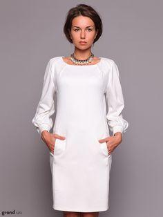 Vestido blanco de simulación