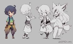 Collection of Game chibi art and cuteness Character Design References, Game Character, Character Concept, Concept Art, Chibi Characters, Cute Characters, Character Design Inspiration, Creature Design, Character Illustration