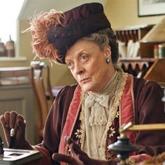 downton abbey dowager countess - halloween costume ideas