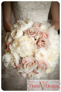 Gorgeous Bouquet (white peonies, white garden roses, mother of pearl roses, blush ranunculus), Wedding bouquet, wedding flowers, boutonnière, bridesmaids bouquet, florals, centerpieces, aisle, petals, snapdragons, peony, roses, garden roses, hydrangeas, tulips, lilies, greenery, blush, peach, burgundy, plum, white, ivory, red, magnolias, wedding