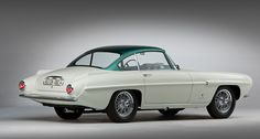 Due to be sold by RM Auctions in New York in November, the 1956 DB2/4 MkII (chassis AM300/1/1132) is the last of the 15 Supersonic projects created by Ghia, and the only Aston among them as almost all were built on Fiat 8V chassis. The unique Aston has several claims to fame other than its unique, Ghia-styled body. First unveiled to the public at the 1956 Turin Motor Show, it was driven to the event by none other than American Grand Prix racer Harry Schell.