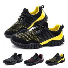 Men Running Training Athletic Shoes Outdoor Sport Breathable Shoes - US$29.99
