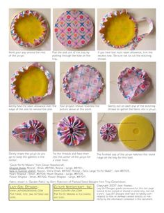 Wonderful Choose the Right Fabric for Your Sewing Project Ideas. Amazing Choose the Right Fabric for Your Sewing Project Ideas. Sewing Hacks, Sewing Crafts, Sewing Projects, Fabric Flower Tutorial, Fabric Flowers, Hobbies And Crafts, Diy And Crafts, Yo Yo Quilt, Creation Couture