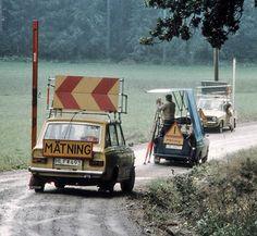 Mobile leveling, Sweden 1978