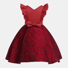 New 2020 Girls Dress Kids Dresses For Girls Costume Wedding Party Princess Dress Children Clothing vestidos 2 3 4 6 8 9 10 Years Baby Girl Party Dresses, Wedding Flower Girl Dresses, Girls Formal Dresses, Dresses Kids Girl, Kids Outfits, Dress Girl, Gown Wedding, Dress Red, African Dresses For Kids