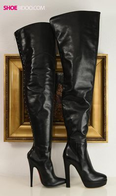Our Karla Malton boots and Biondini boots together. The highest crotch boots we have.
