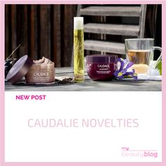 We have some news for you this month! Caudalie has launched two new products and we cannot wait to tell you all about it!  Check the new post on My Beauty Blog 😍 #cosmetics #skincare #blog #beauty #beautyblog #onlineshop #onlinestore #instabeauty #mybeautyblog #mybeautybloom Skincare Blog, Shower Gel, My Beauty, Herbalism, Told You So, Product Launch, Skin Care, Cosmetics, Mugs
