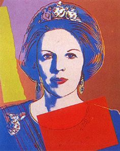 Queen Beatrix by Andy Warhol