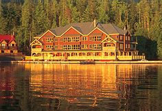 King Pacific Lodge, North Vancouver, British Columbia - a one-of-a-kind luxury adventure lodge that floats on Barnard Harbour.
