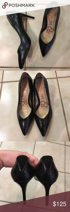 Sam Edelman classic black heels Great condition, only worn a couple times! Sam Edelman Shoes Heels