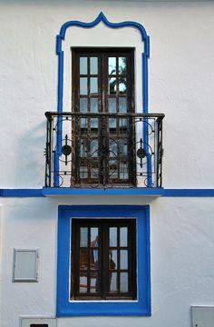 Brotas, Mora - Alentejo, Portugal Portugal, Latest House Designs, Mountain Homes, Windows, Portuguese, Interior And Exterior, Facade, Around The Worlds, Doors