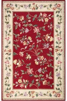 Floral Vine Area Rug - Area Rug - Floor Coverings | HomeDecorators.com