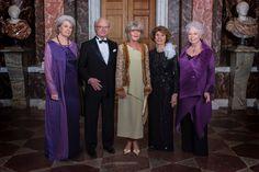 Gert's Royals (@Gertsroyals) on Twitter:  January 19, 2017-80th birthday celebration for Princess Birgitta of Sweden (b. January 19, 1937-The Swedish Siblings-Princess Margaretha, King Carl Gustaf, Princess Birgitta, Princess Désirée, and Princess Christina