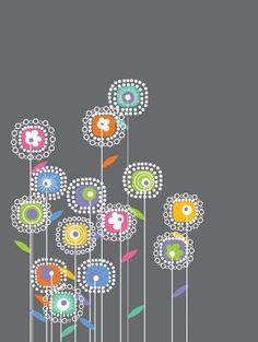 doodle flores - Buscar con Google