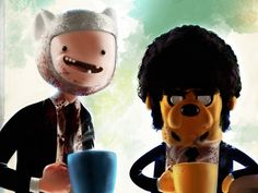 Pulp Fiction parody Adventure Time #Wall
