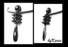Blacky at home: Lil Urchin Necklace....