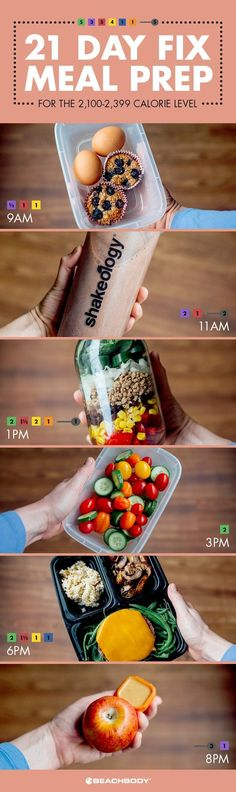 Quick and simple 21 Day Fix meal preps for every calorie level! // meal prep // meal planning // 21 day fix // // // lunch // lunch combos // bento boxes // fresh food // healthy eating // healthy // clean eating // Beachbody // BeachbodyBlo Easy Meal Prep, Healthy Meal Prep, Easy Meals, Healthy Recipes, Easy Recipes, Diet Recipes, Meal Preparation, Clean Eating Diet, Stop Eating
