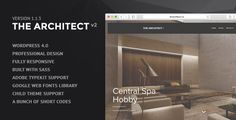 Found this fully responsive WordPress Theme for Architects. How rad is that? #wordpress