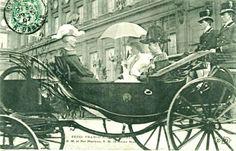 Kongelig - Fra Kong Haakon VIIs statsbesøk i Frankrike 1907