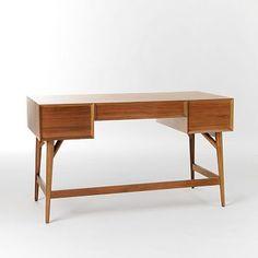 Mid-Century Desk - Acorn #westelm