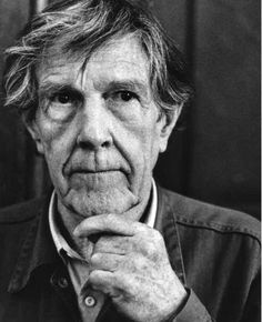 """John Cage - """"I have nothing to say and I am saying it, and that is poetry."""""""