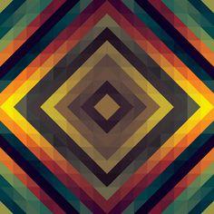 Pattern Gradient Tiles in Diamond Formation