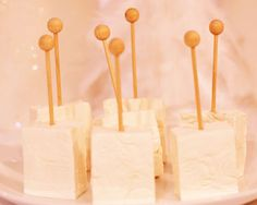 homemade marshmallows- on a stick!