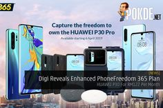 Digi has upgraded their PhoneFreedom 365 plan, offering wider range of smartphones and coming with no upfront payment and interest charges. Latest Phones, Existing Customer, Technology News, Smartphone, Range, How To Plan, Cookers, Stove, Ranges