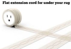 This simple invention will make sure you never trip over extension cords again.