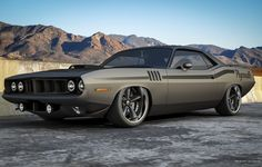 Plymouth Barracuda..... Completely sick!