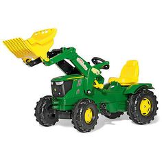 heavy equipment: John Deere Farm Tractor With Loader BUY IT NOW ONLY: $279.99