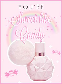 Always wear your invisible tiara♡Princess Helen♡ Ari Perfume, Perfume Bottles, Venus Star, Ariana Grande Fragrance, Sweet Like Candy, Get Instagram, Girls Life, Pretty In Pink, Pink And Gold