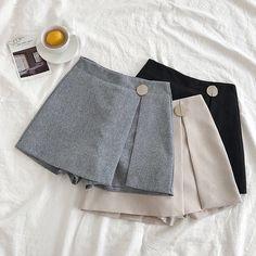 2018 Women Mini Skirts High Waist Harajuku Cute Sweet Skirts Pleated Vintageliilgal - Her Crochet Teen Fashion Outfits, Baby Girl Fashion, Fashion Dresses, Elise Fashion, Skirt Outfits, Cute Outfits, Jugend Mode Outfits, Dresses Kids Girl, Cute Skirts