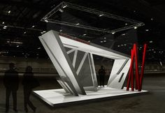 EXHIBITION STAND - DANIEL LIBESKIND INSPIRED [2011]