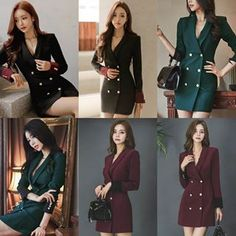 A dark coat will assist you with establishing a long term connection. ✓ Worldwide Free Shipping ✓ Subscribe & Get $10 Off ✓ Search id>>TDM07867  #coat #Blazers #Doublebreasted #OfficeLady #Officewear #outerwear #dailycasual Color Block Bikini, Office Ladies, Office Wear, Double Breasted, Blazers, Connection, Free Shipping, Dark, Search