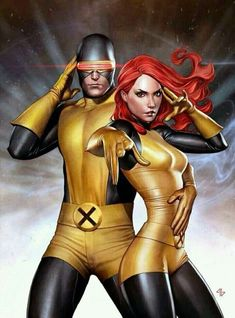 Cyclops and Jean Grey .