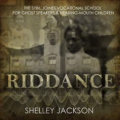 Eleven-year-old Jane Grandison, tormented by her stutter, sits in the back seat of a car, letter in hand inviting her to live and study at the Sybil Joines Vocational School for Ghost Speakers & Hearing-Mouth Children. Howard Zinn, What To Read, Audio Books, Speakers, Lettering, Children, School, Study, Cure