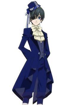 Kuroshitsuji Ciel Phantomhive Dance Suit Cosplay Outfits Costumes