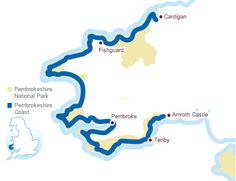 Overview of the Pembrokeshire Coast Path
