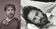 Paul Mounet (left) – medical student and actor. Keanu Reeves (right) – time traveller and actor. See http://triviasa.co.za/2014/06/06/famous-time-travellers/