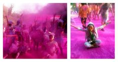 #pink #colorrun #japan #colorful #holi #life 『The Color Run™』in相模湖、走って来ました!!@April Cochran-Smith 12th,2014