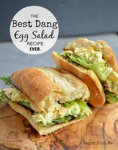Best Dang Egg Salad Recipe Ever. Ever.