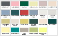 Mad for Midcentury: California Paints Mid Century Modern Colors 1940 - 1960